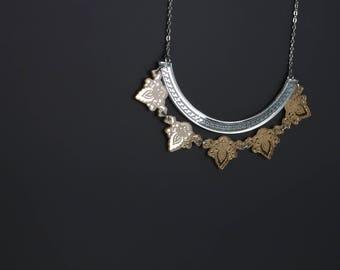 Bib - Terii-mirror Silver/Gold