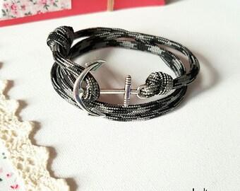 Genuine Paracord men bracelet