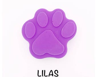 Wax fondant, lilac fragrance, cat paw shape