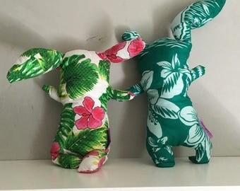 Plush green maloya