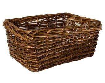 Willow Storage Basket Medium Hamper Storage Home Decoration Display Wedding Gift