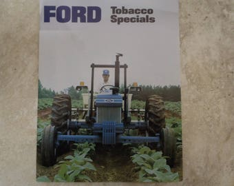 Ford 10 Series Tobacco Special Tractor Literature