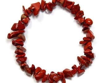 Baroque bracelet red Jasper