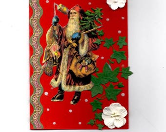 310 - Greeting card for new year celebrations St Nicolas