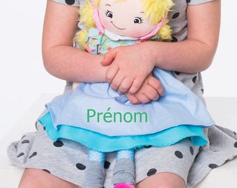 Joanna CUBBIES custom doll to the child's name