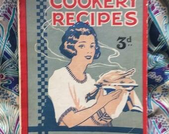 Vintage Recipe book