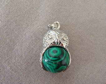 OWL Green Ball pendant