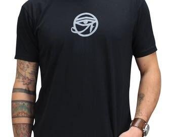 men's t-shirt / eye of Horus t-shirt/Egyptian symbol t-shirt