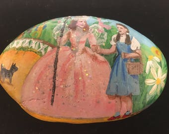 Hand Painted Wizard Of Oz Sandstone.