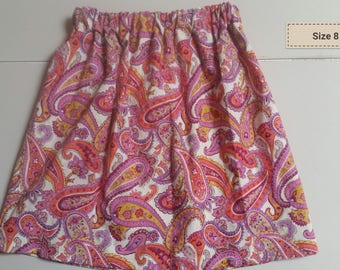 Paisley Skirt size 8