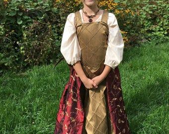 Size 8-10 slim traditional renaissance costume