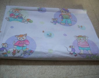 CAT and mouse kids fabrics