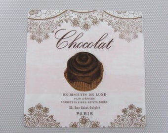 Luxury biscuits: chocolate