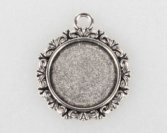Silver medium cabochon 18 mm (SC018)