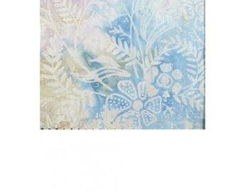 blue/purple plain faux batik patchwork fabric