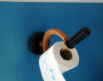 Roll toilet paper fencing, sword, recycling and diversion feeder