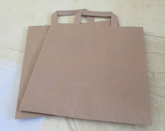set of 2 bags in kraft paper