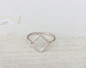 Simple triangle ring