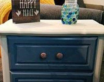 Refinished Night Stand or End Table