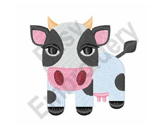 Cow - Machine Embroidery Design