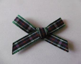 Plaid fabric bow code 1058 MACKENZIE 7 mm