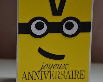Way Minion birthday card