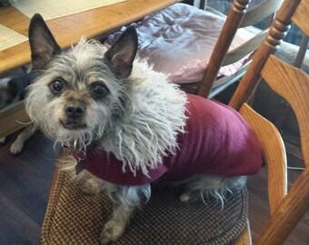 Faux fur fleece luxury jacket