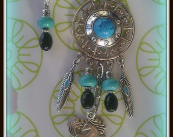 Necklace and earrings set * style COUNTRY *.
