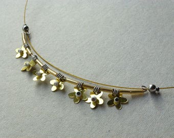 Necklace * flowers are star *.