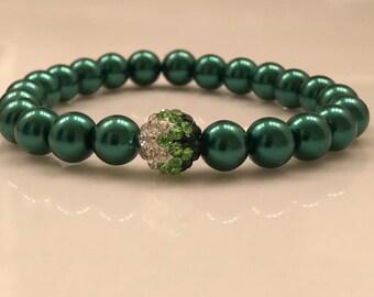 Shades of Green Bracelet