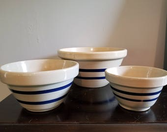 Roseville Mixing Bowls