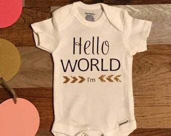 Hello World I'm (Name)