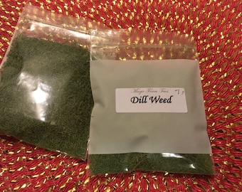 Dill Weed - Dried herb 1/4oz.