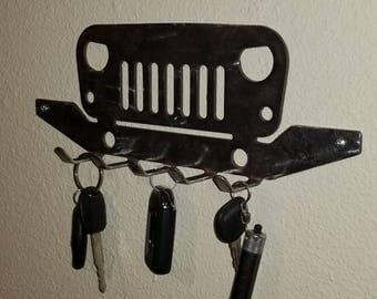 Jeep keyholder, custom, XJ, Cherokee, 4x4, off road.