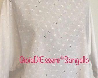 Hand made Sangallo white shirt