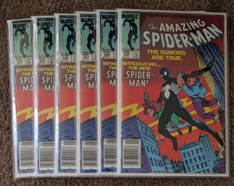 The Amazing Spider-Man #252 lot of 6 newsstands!