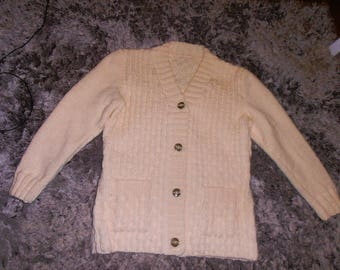 women's Cardigan knitted by hand