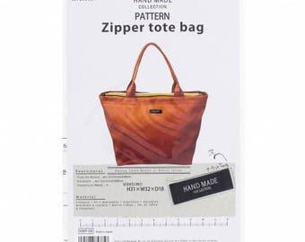 Kiyohara pattern for a Zipper Tote Bag ref:468p6
