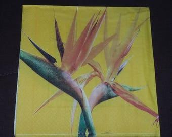 Flower napkin exotic n7