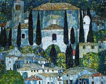 ORIGINAL design, durable and WASHABLE PLACEMAT - Gustav Klimt 3 - classic.