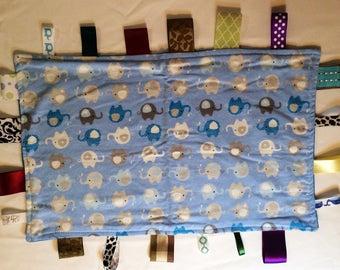 Snuggie Blankie 104 Baby or Toddler Cuddle Blanket Fidget Blanket