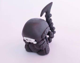 Xénomorphe Alien - Figurine en fimo