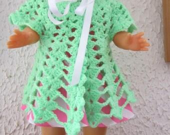 Spring coat for doll 40 cm