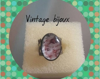 "small ring in bronze ""Marie Antoinette"""