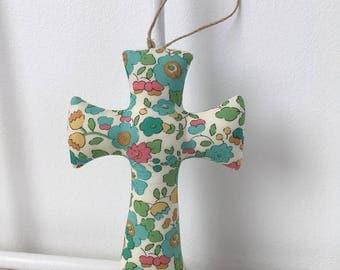 Cross liberty betsy green, baptism gift