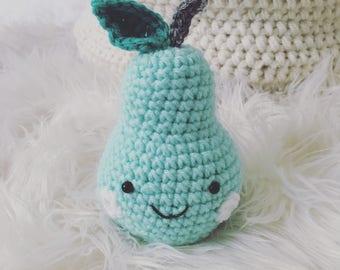 Crochet Plush Pear