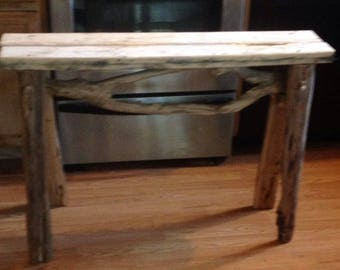 Sawhorse Etsy - Charming vintage diy sawhorse coffee table