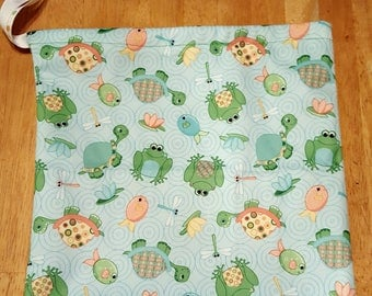Full Size Froggy/Turtle/Fish/Dragonfly Wet Bag