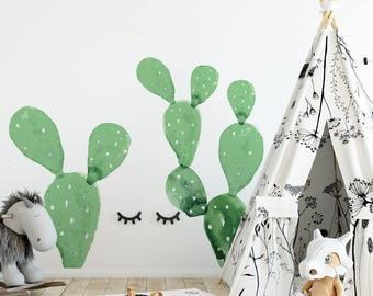 WALLSTICKERS 2 CACTI
