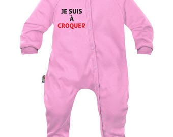 Baby pyjamas: I am to eat (for boy and girl)